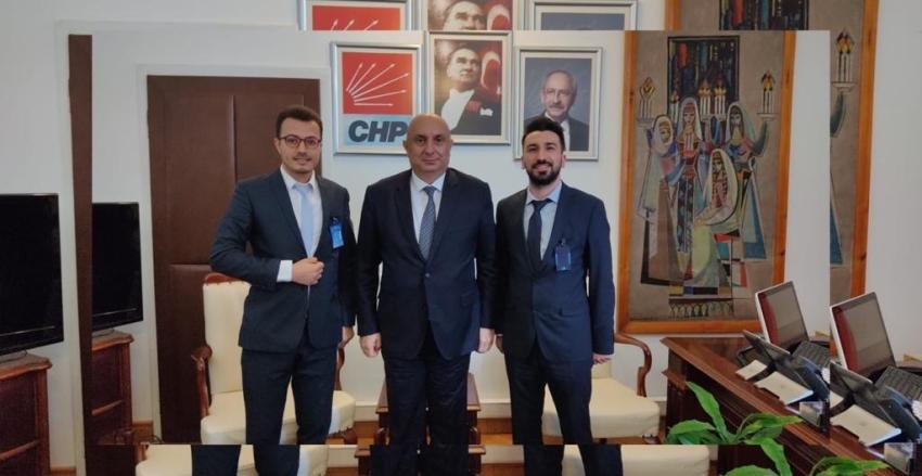 Hep-Sen yönetim kurulu olarak Ankara ziyaretleri kapsamında, Sakarya Milletvekilimiz Sayın Engin Özkoç'u ziyaret ettik.
