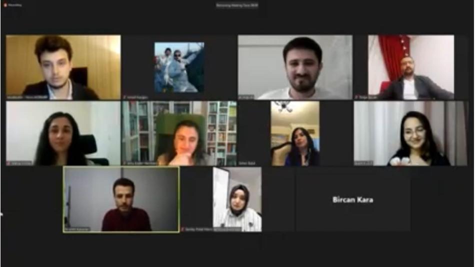Genel Tanışma Toplantımızı Online Olarak Gerçekleştirdik.